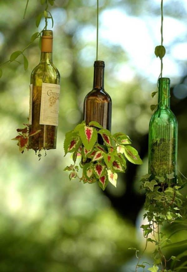10 Creative & Simple Ways to Repurpose Old Glass Bottles 6 • Do-It-Yourself Ideas