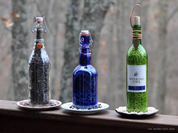 Repurpose Old Glass Bottles7