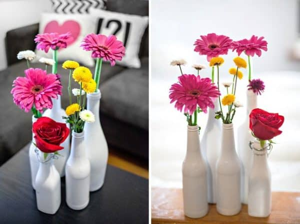 Repurpose Old Glass Bottles4
