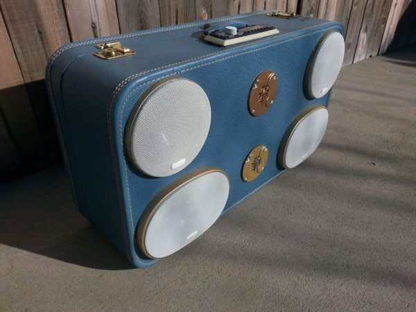1930's Suitcase Boombox 1 • Home & décor