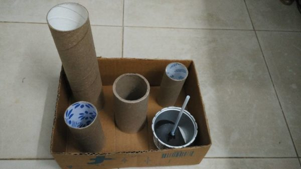 Diy: Accessories Storage From Recycled Toilet Paper Rolls 3 • Recycled Packaging