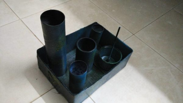 Diy: Accessories Storage From Recycled Toilet Paper Rolls 5 • Recycled Packaging