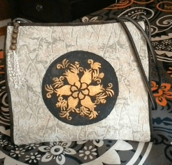 Handy Crafts Bag Made From Upcycled Sofa's Cover 3 • Clothing & Accessories