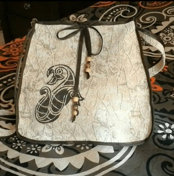 Handy Crafts Bag Made From Upcycled Sofa's Cover 1 • Clothing & Accessories