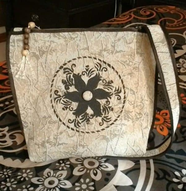 Handy Crafts Bag Made From Upcycled Sofa's Cover 7 • Clothing & Accessories