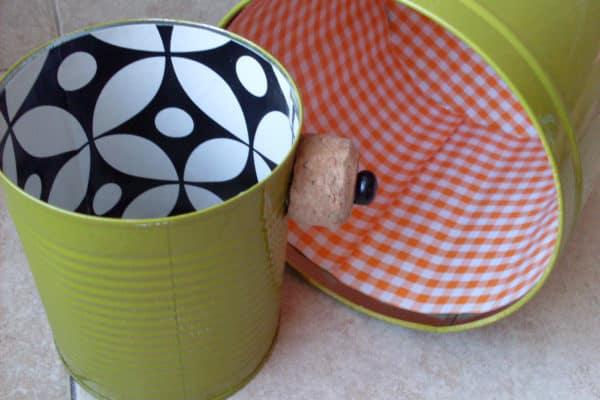 Recycling Cans Into Tiny Planters / Reciclado De Latas 9 • Recycling Metal