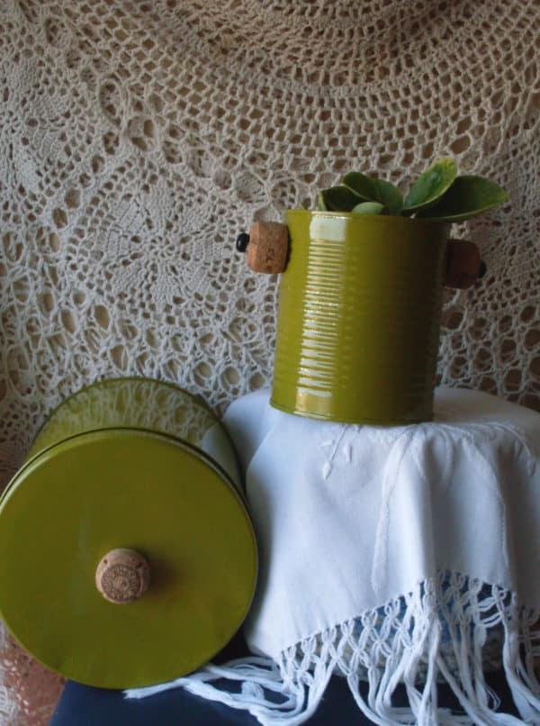 Recycling Cans Into Tiny Planters / Reciclado De Latas 15 • Recycling Metal