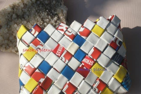 Smoky Plexus Upcycled Handbags 3 • Recycled Plastic
