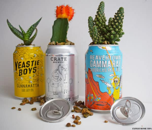 A Crazy-cute Way to Upcycle Your Empty Drink Can 7 • Recycling Metal