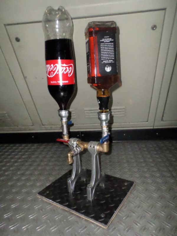 Drinks Dispenser From Recycled Engine Parts 1 • Recycling Metal