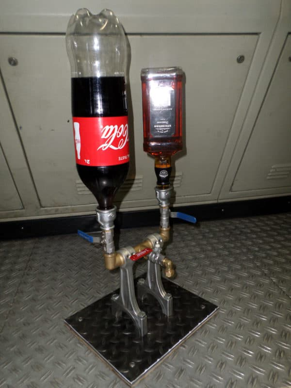 Drinks Dispenser From Recycled Engine Parts 3 • Recycling Metal
