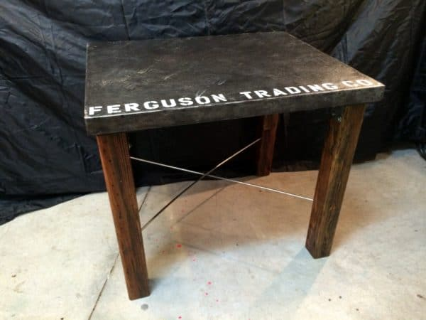 From Industrial Cart to Industrial Table 3 • Recycled Furniture