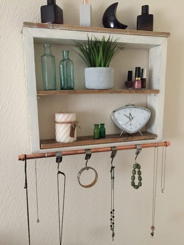 Wood Shelving Unit1
