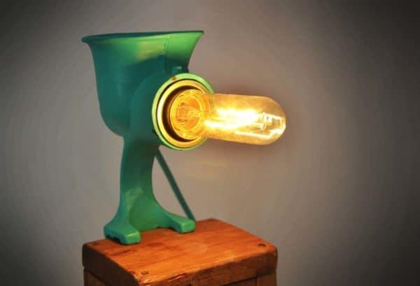 Vintage Grinder Lamp 11 • Lamps & Lights