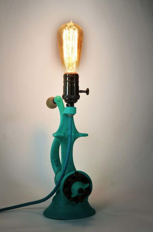 Vintage Grinder Lamp 7 • Lamps & Lights