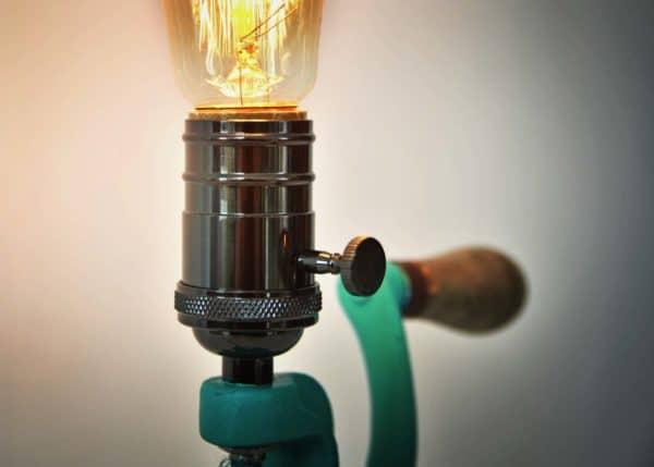 Vintage Grinder Lamp 3 • Lamps & Lights