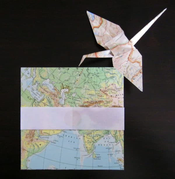 Upcycled Origami Paper1