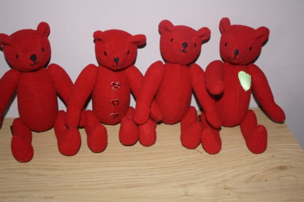 Upcycled Rubbish Bears 1 • Recycled Packaging