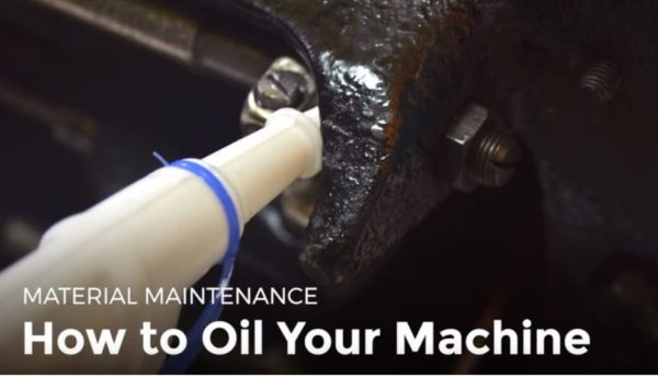 Oil Your Sewing Machine - a DIY video tutorial showing you how to maintain your sewing machine properly.
