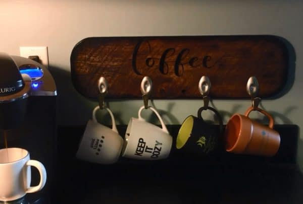 Diy Video Tutorial: Upcycled Spoon Cup Hooks 3 • Recycling Metal