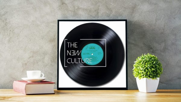 Recycled Vinyl Records feature various unique designs that are carved into upcycled records