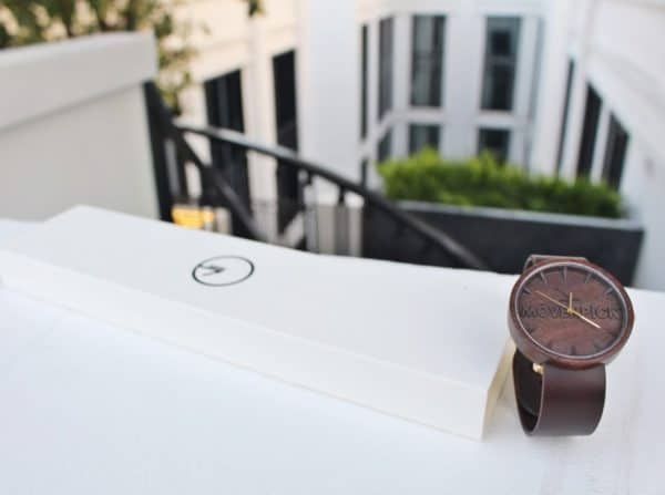 Upcycled Hardwood Becomes Wooden Watches 5 • Accessories