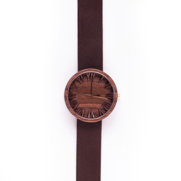 Upcycled Hardwood Becomes Wooden Watches 3 • Accessories
