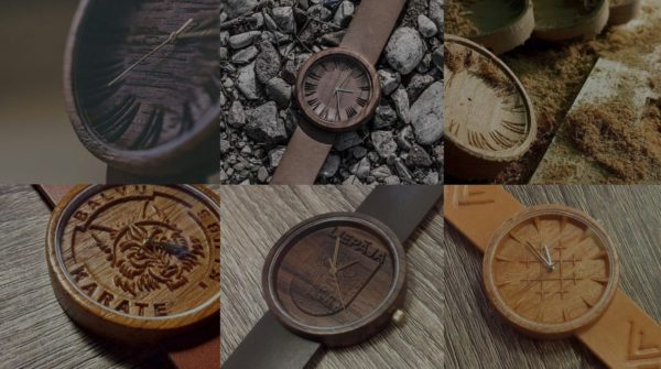 Upcycled Hardwood Becomes Wooden Watches 1 • Accessories