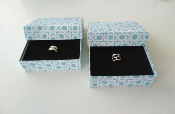 Upcycled Jewelry Holder Cardboard Boxes For Great Gift Giving 1 • Recycled Cardboard