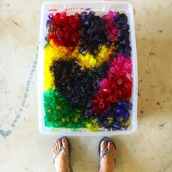 Ice Dyed T-shirts Become Fun Kids Clothes! 7 • Clothing