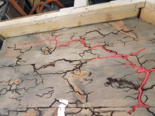 Led-lit Fractal-burned Pallet Bar For Your Man Cave 15 • Recycled Pallets