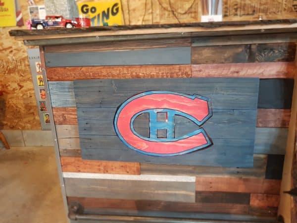 Led-lit Fractal-burned Pallet Bar For Your Man Cave 11 • Recycled Pallets