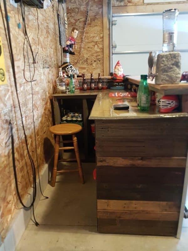 Led-lit Fractal-burned Pallet Bar For Your Man Cave 9 • Recycled Pallets