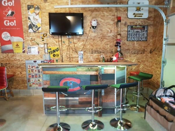 Led-lit Fractal-burned Pallet Bar For Your Man Cave 1 • Recycled Pallets