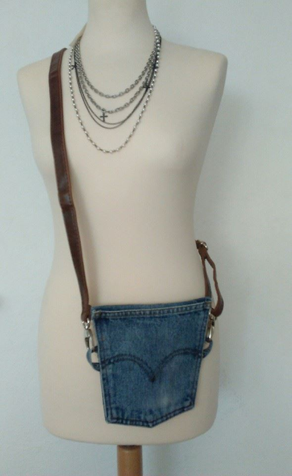 More Great Upcycled Levi Strauss Jeans Projects! 1 • Accessories