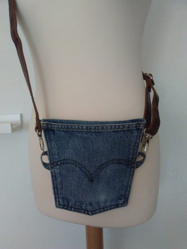 More Great Upcycled Levi Strauss Jeans Projects! 3 • Accessories
