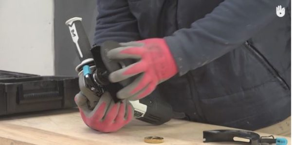 Learn how to install and change a blade on your Angle Grinder