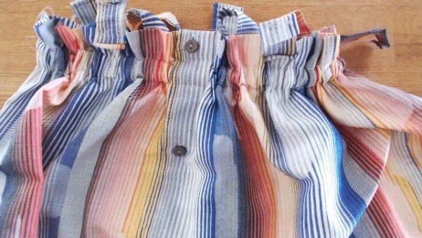 Diy Video Tutorial: Make This Suspender Skirt Using Old Shirts 9 • Clothing