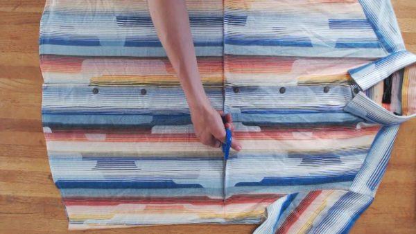 Diy Video Tutorial: Make This Suspender Skirt Using Old Shirts 1 • Clothing