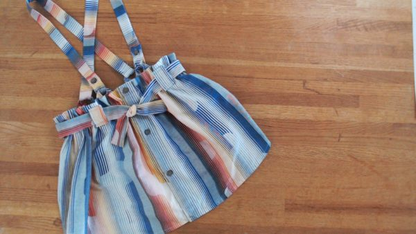 Diy Video Tutorial: Make This Suspender Skirt Using Old Shirts 11 • Clothing