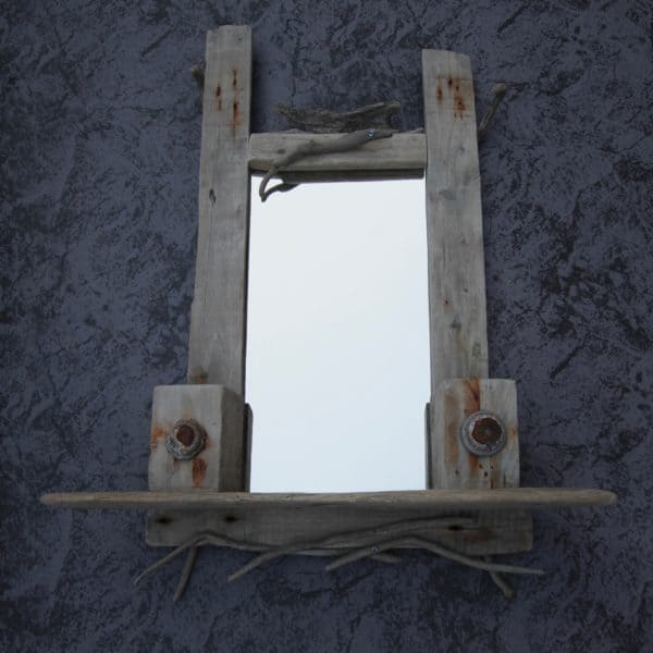 Driftwood Mirror Frame: The Eyes Have It! 11 • Wood & Organic