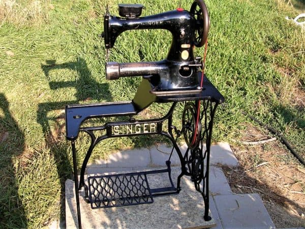 Can you believe this Singer Industrial Sewing Machine is about to turn 100 years old?