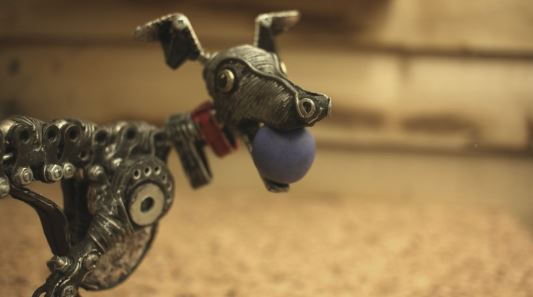 This little Upcycled Mechanical Whippet is so adorable, and captures the enthusiasm of dogs and shows us why we love them.