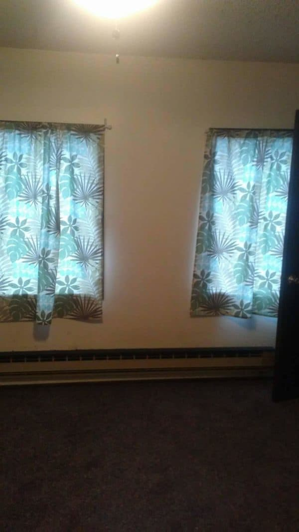 Window Screens shouldn't make your room dark, and the interior view shows how nicely these screens function.