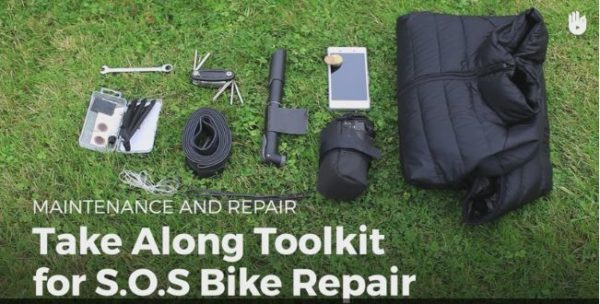 Make your own Emergency Bicycle Repair Kit so those family bicycling trips are great!