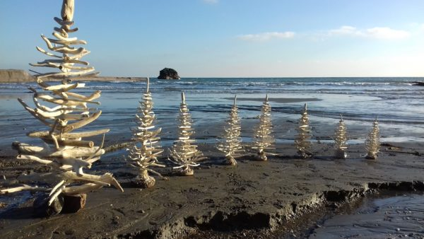 These driftwood tree sculptures were an easy choice for the top 5 August Upcycled Projects