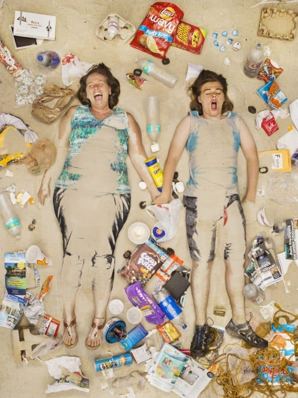 Amazing Portraits Telling the Story of Consumption & Waste 3 • Recycled Art