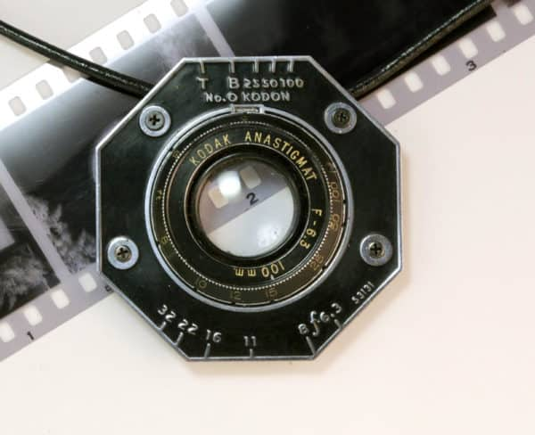 Camera Jewelry can be made from virtually any piece of the camera, including the old lenses.