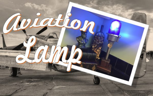Make this Upcycled Aviation Lamp for that plane lover in your family.