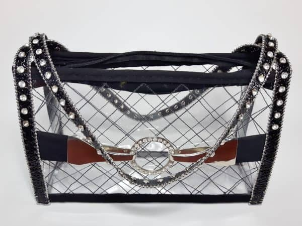 Take out the liner and use the Upcycled Plastic Bottle Handbag as-is.
